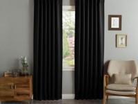 Черные шторы в интерьере — оформляем элегантный дизайн с темными шторами (97 фото)