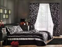 Черно-белые шторы: отличное сочетание и гармония в интерьере (160 фото)