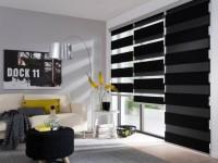 Темные шторы — стильный и элегантный дизайн на 90 фото
