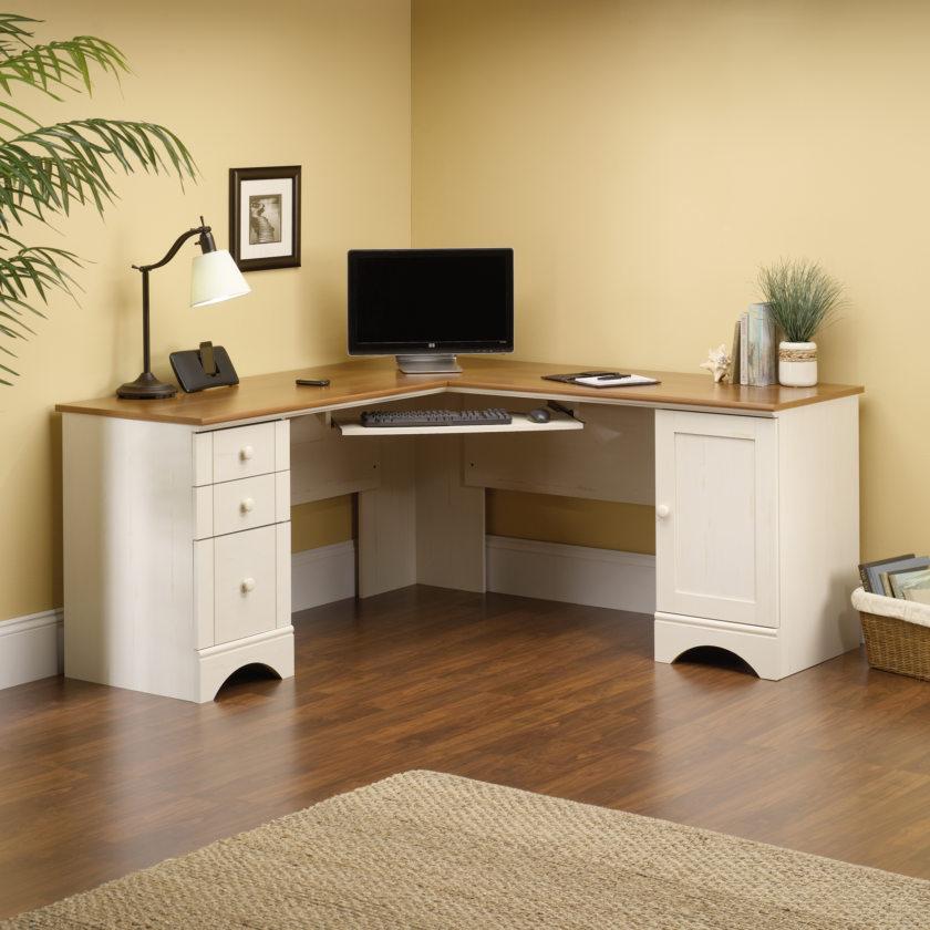 угловой компьютерный стол в интерьере 90 фото необычного дизайна