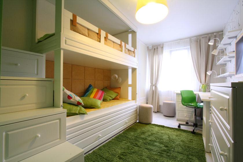 детская комната 12 кв м 105 фото функционального и уютного дизайна