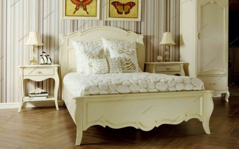 Белая мебель для спальни прованс