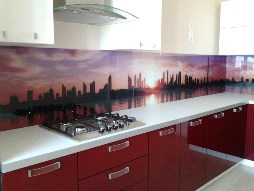 Schürze Küche Kunststoff Foto