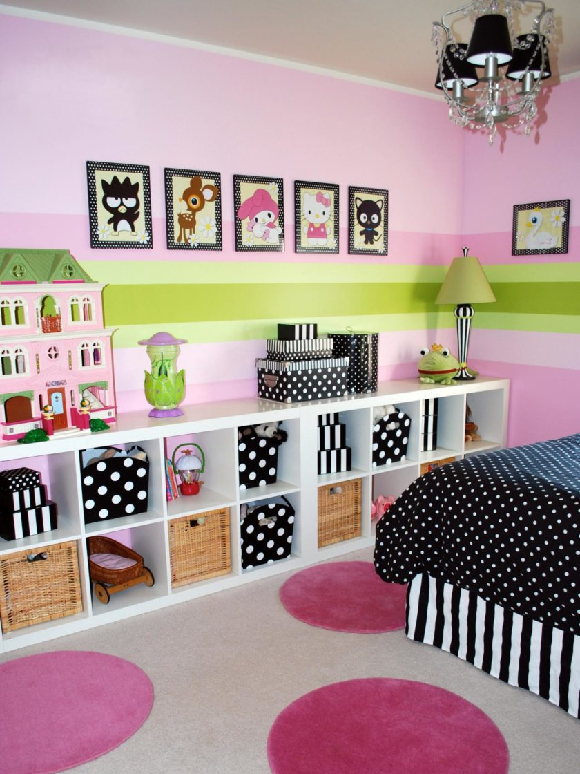 Как украсить детскую комнату своими руками рекомендации