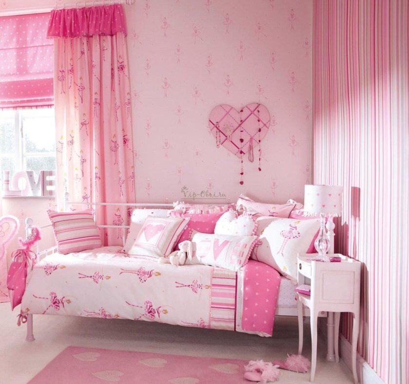 Girls pink bedrooms