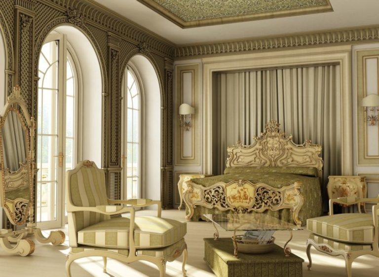 Барокко дизайн интерьера