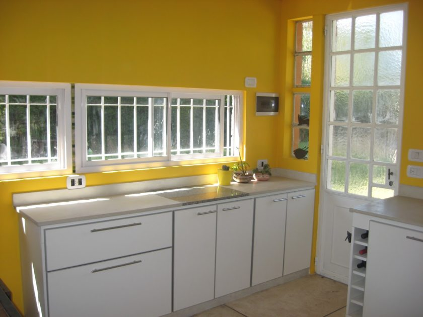 Marvellous Yellow Kitchen Wall Color Ideas - plusarquitectura.info