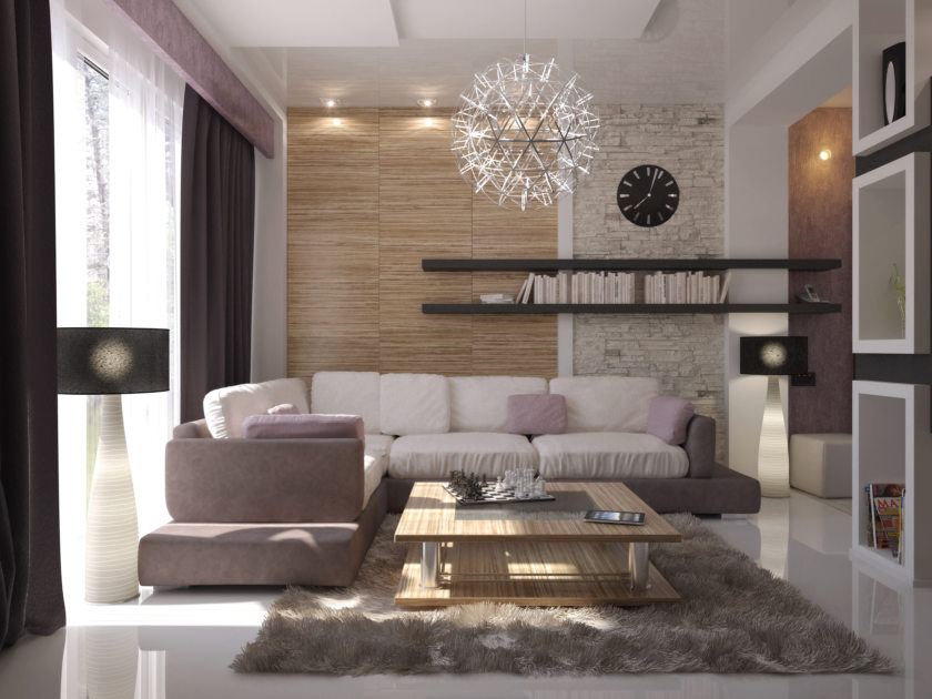 Стиль конструктивизм в интерьере квартиры фото