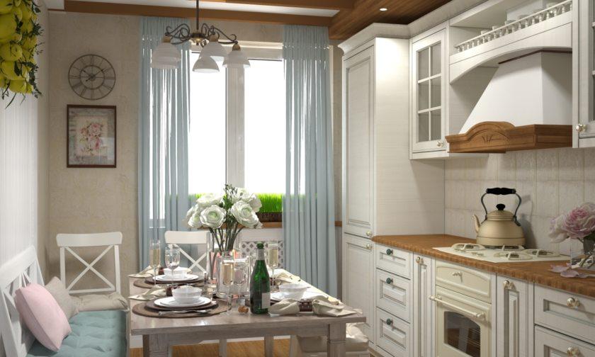кухня в стиле прованс 100 фото оригинальных дизайнерских решений