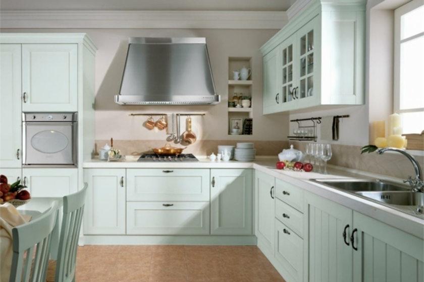 кухни белые в стиле прованс фото