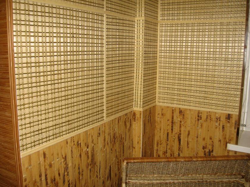 Из бамбукового полотна своими руками 73