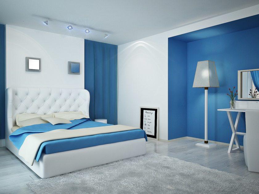Un nicho en la pared para una cama